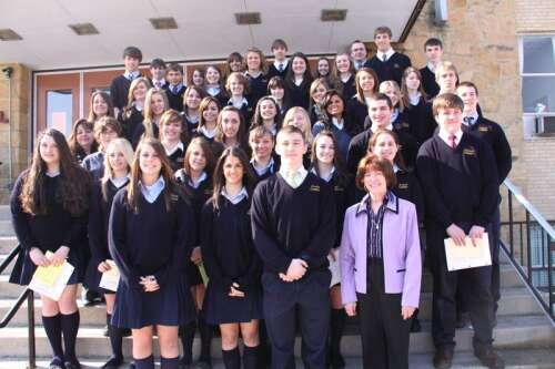 Marian High School Language Honor Societies Hold Induction Times News Online