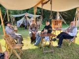 The No. 9 Coal Mine & Museum in Lansford held its annual Labor Day Weekend Picnic and Civil War Living History event on Sunday. LINDSEY BOWMAN/SPECIAL TO THE TIMES NEWS