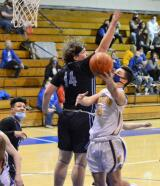 Marian and Shenandoah Valley met in a District 11 Class 2A boys semifinal contest on Tuesday. By Ron GowerMarian and Shenandoah Valley met in a District 11 Class 2A boys semifinal contest on Tuesday. By Ron Gower