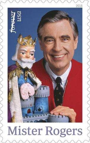 Postal Service Unveils Mister Rogers Postage Stamp Times News Online