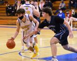 Marian and Shenandoah Valley met in a District 11 Class 2A boys semifinal contest on Tuesday. By Ron Gower
