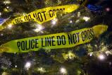 The Walnutport Police Association used Police tape to decorate their tree.