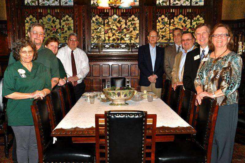Lions Club Dignitaries Visit Asa Packer Mansion Museum Times News Online
